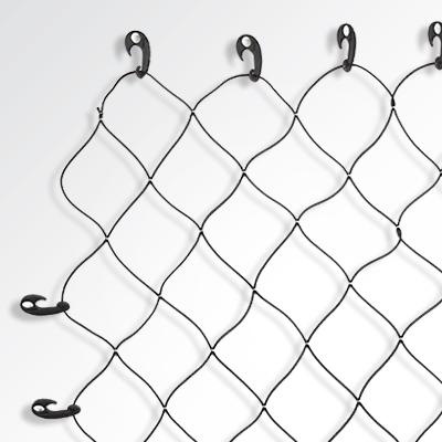 Cargo Net , Diamond Checks Design